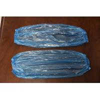 Quality cheap disposable plastic PE sleeve cover in white, red, yellow or blue color wholesale