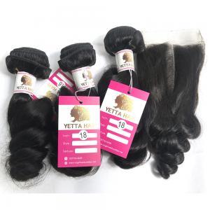 China 100% Virgin Human Hair Extensions Loose Wave Hair Bundle Peruvian Human Hair Weave on sale