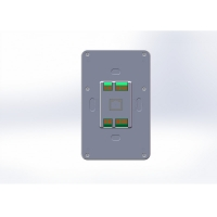 Quality Wall Mount Industrial Controller 5 Inch Android POE Tablet PC with Zigbee Coordinator wholesale