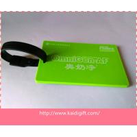 China Best price custom rubber plastic souvenir luggage baggage tag on sale