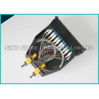 Quality Yellow LC - MTP Fiber Optic Cassette 24F Single Mode Fan Out Classic Cassettes wholesale