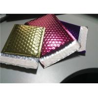 Cheap 4 Layers Rose Gold Bubble Mailers , 380x330 #B4 Metallic Glamour Mailers for sale