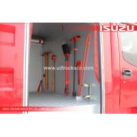 Quality CXA34T ISUZU water Fire truck with Fire canon wholesale