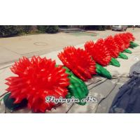 Quality 8m Inflatable Rose String, Inflatable Wedding Flower Chain for Wedding wholesale