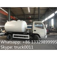 China liquefied petroleum gas tank  truck for filling gas cylinder for sale, hot sale lpg gas propane dispensing truck on sale