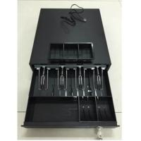 Quality Long Time Small Square Terminal Cash Drawer With Black Finish For POS System wholesale