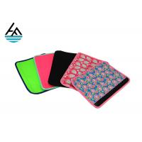 China Insulated Universal Neoprene Seat Belt Covers With Sublimation Printing on sale