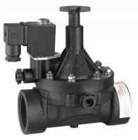 """China 2""""Electronic 2 Way NC Plastic Solenoid Valve Pilot Operated for Water Liquid on sale"""