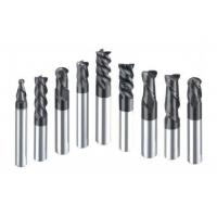 China Professional HRC60 Tungsten Carbide End Mill For Processing Carbon Steel on sale