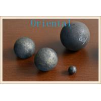 Buy cheap Dia 80mm high hardness Forged Grinding Ball Grinding Media Steel Balls product