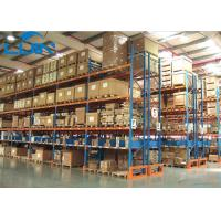 Quality Metal Industrial Storage Rack For Warehouse Storage Solutions Powder Coated Finishing wholesale