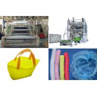 Quality SMS PP Spunbond Nonwoven Fabric Production Line / Equipment automatic bag Making wholesale