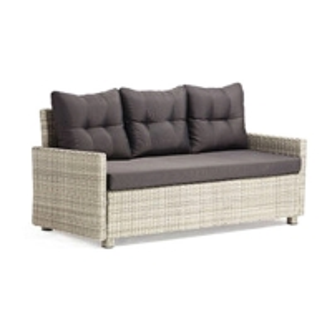 Quality Waterproof 750mm Depth 840mm Height Rattan Wicker Sofas , Wicker Sleeper Sofa wholesale