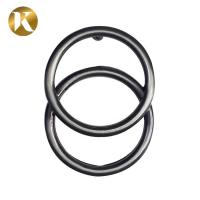 Quality Retro Double Ring Pin Belt Buckles 40MM Popular Style For Women wholesale