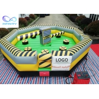 Quality Interactive Sports Wipeout Course Inflatable Meltdown Machine wholesale