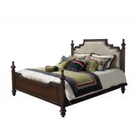 Cheap Sandalwood Bedroom set Classic style BT-2902 High fabric Upholstered headboard for sale