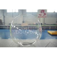 Quality Clear TPU Inflatable Water Walking Ball With Durable Tizip Zipper wholesale