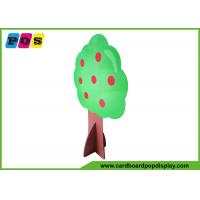 Quality Tree Shape Life Size Stand Ups , Corrugated Floor Cardboard Standup Cutouts AD003 wholesale