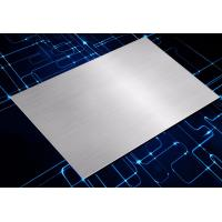 Quality New 1116/5052 Silver Short Grain Anodized Brushed Aluminum Plate wholesale
