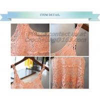 Quality Summer Crop Tops Crochet Top Knit Summer Style Women Tops Cropped Halter White Camisetas wholesale