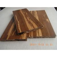 Cheap Tigerwood Strand Woven Bamboo Flooring, T&G for sale