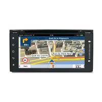 Quality Mirror Link Touch Screen Car Dvd Player For Toyota Universal , Toyota Navigation System wholesale