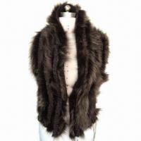 China Sweater Vest with Fur Attachment on sale