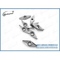 Quality Reliable VCGX160404 160408 Carbide Insert Cutting Tools For Aluminum Alloys wholesale