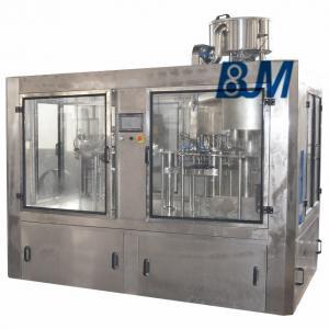 Quality 220V 380V Soft Drink / Carbonated Drink Production Line For Room Temperature Filling wholesale