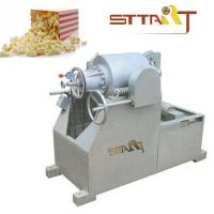 Quality Hot Air SS Puffed Rice Machine , Fast Speed Corn Puff Making Machine wholesale