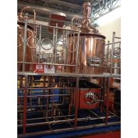 Quality Turn-key Copper microbrewery equipment for sale beer equipment from 100L-2000L wholesale