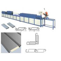 Quality Sun Control Polyurethane Sandwich Panel Machine For Window Covering Slats wholesale