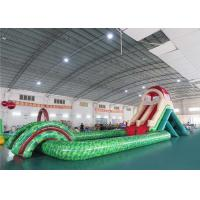 China Funny Aqua Park Slide , Inflatable Water Park Equipment CE UL Certificated on sale