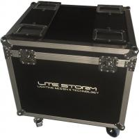Quality Environmental Material Waterproof Rack Linging Flight Case For Show wholesale