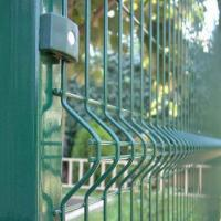 China Razor Welded Wire Mesh Fence Panels In 6 Gauge Airport Security Perimeter on sale