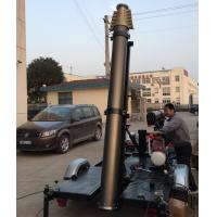 21m trailer mast tower system/pneumatic telescopic mast/ mobile trailer system/