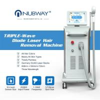 China 2019 New design diode laser 808nm hair removal/laser hair machine diode laser/laser epilator Nubway product on sale