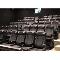 Quality Cost-effective 4D Cinema With Customized Ultra Durable Electric 4D Motion Seats wholesale