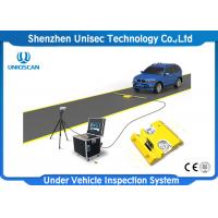 Quality Portable Mobile Under Vehicle Inspection System For Airpot Metro wholesale