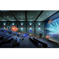Quality 4D Cinema 4D Movie Theater With Electric System Motion Chair 1 Seat 2 Seats wholesale