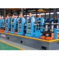 Quality Durable High Frequency Welded Stainless Steel Pipe Mill , Pipe Making Machine wholesale