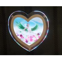 Quality Irregular Shape Crystal LED Photography Light Box Frameless Brightness wholesale