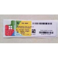 Quality 32 bit / 64 bit win 7 professional sp1 product key COA License Sticker wholesale