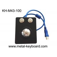 Buy cheap Rugged Industrial Pointing Device Panel Mount 38mm Metal Trackball No Noise from wholesalers