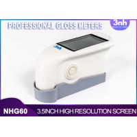 Quality Single Angel Professional Gloss Meters NHG60 , Intelligent Gloss Level Measurement For Patch Paint wholesale