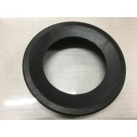 Quality Round Black Durable Toilet Fittings , Toilet Rubber Gasket 30-90 Shore Hardness wholesale
