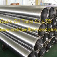 Buy cheap Oasis factory supplies stainless steel wire wrapped johnson screens pipe product