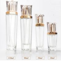 Quality 30ml 50ml 90ml 110ml Glass Bottle with Luxury Lotion Pump for Skin Care wholesale