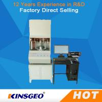 Cheap 640mm×580mm×1300mm Size No Rotor Rheometer Plastic Testing Machine With Computer for sale