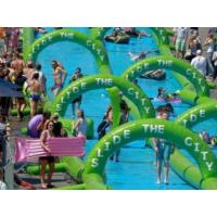 China Inflatable slide the city on sale